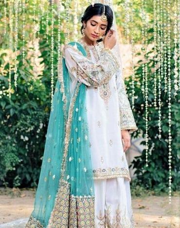 gotta kinari pakistani wedding Dresses