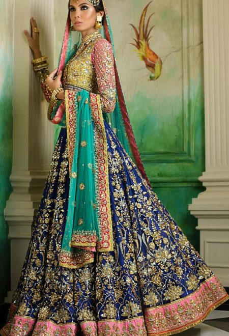 FF007 pakistani wedding dresses