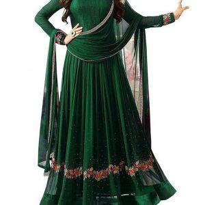GreenChudidaar Pakistani dresses
