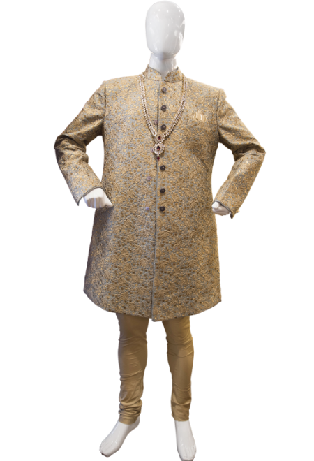 MensGoldSherwani-PakistaniDresses