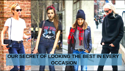 OUR SECRET OF LOOKING THE BEST IN EVERY OCCASION 1