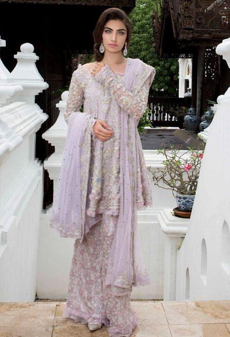Lilac net shirt