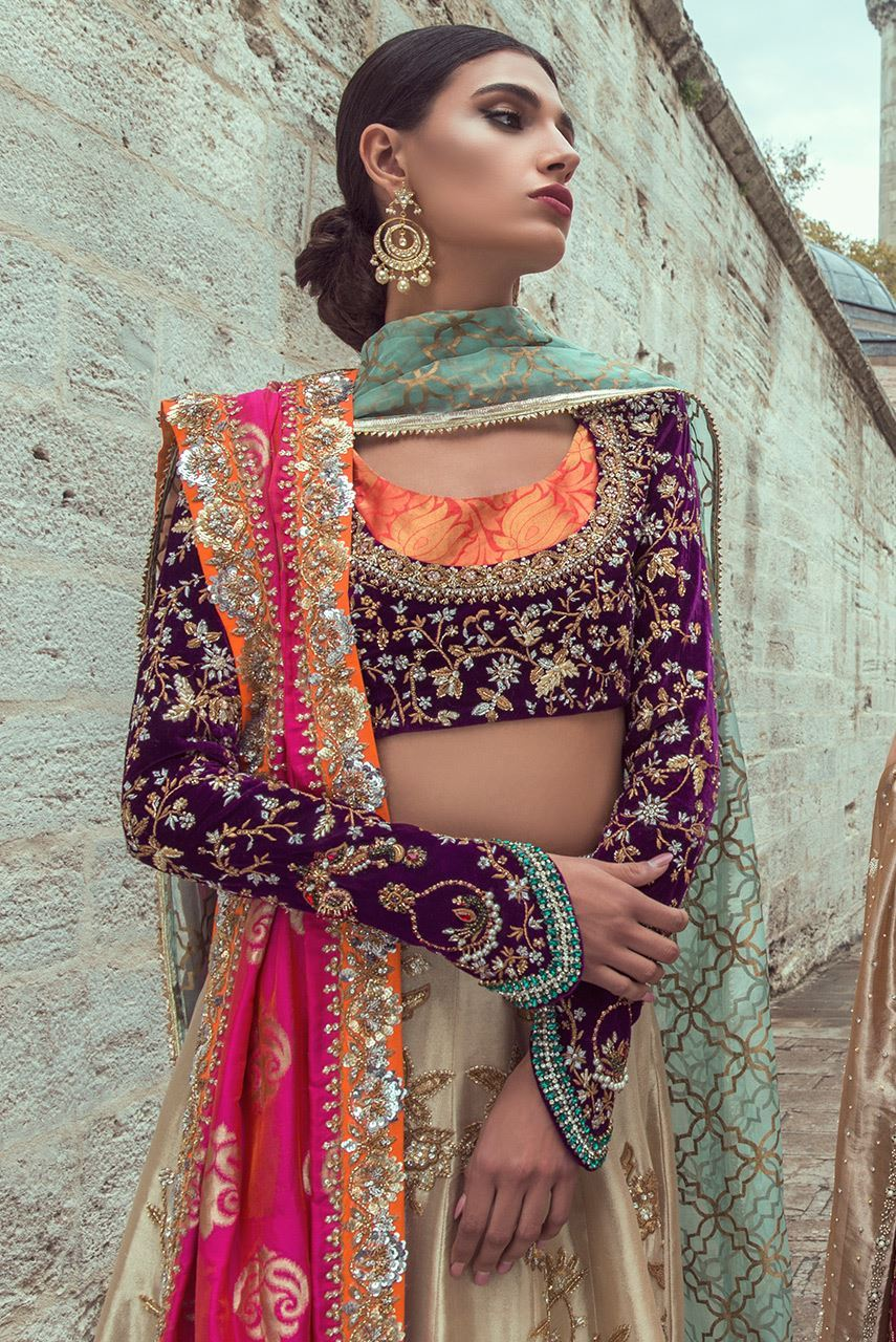 Electric Lehenga Choli